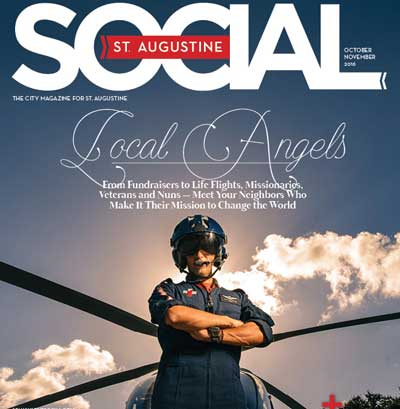 St. Augustine Social October November magazine